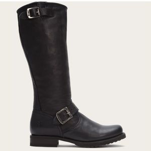 Frye Veronica Slouch Tall Buckle Riding Boot 6